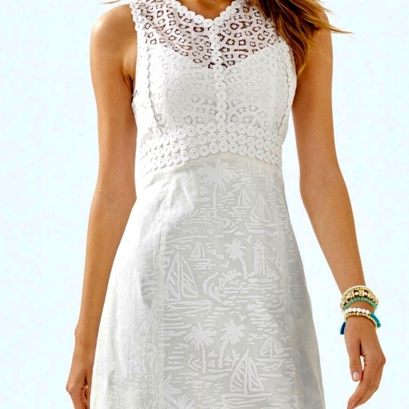 Lilly Pulitzer $238 Leigh Stretch Shift Dress